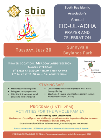 Thumbnail for Eid ul-Adha at SBIA