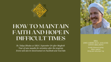 Thumbnail for Sh. Yahya Rhodus at SBIA: How To Maintain Faith And Hope Through Difficult Times